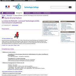 La chaise de Rietveld : comment Technologie et Arts s'enrichissent mutuellement