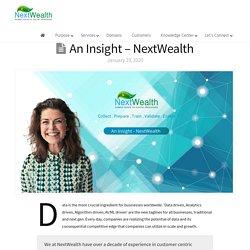 Data enrichment company - NextWealth
