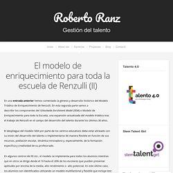 El modelo de enriquecimiento para toda la escuela de Renzulli (II)
