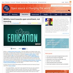 MOOCs must be open in both enrollment and licensing