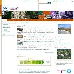 PARIS : ENS Cachan - Projet Paris-Saclay