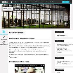 ENSA Limoges | Studizz