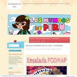 Ensalada FODMAP (SG, SL, SH, V, FODMAP)