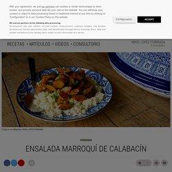 Ensalada marroquí de calabacín