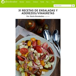 Recetas de ensaladas & aderezos / vinagretas