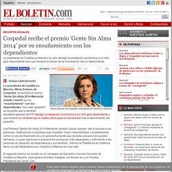 Cospedal recibe el premio 'Gente Sin Alma 2014' por su ensañamiento con los dependientes
