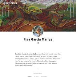 Fina García Marruz: poemas, ensayos y cuentos