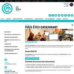 Dossiers pédagogiques - Espace enseignants / scolaire 2009