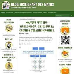 """Blog enseignant des maths. L'enseignement, des maths et le """"Libre"""""""