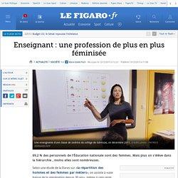 Enseignant: une profession de plus en plus féminisée