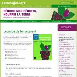 Réduire mes déchets, nourrir la Terre (Passerelle Info)