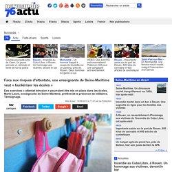 Face aux risques d'attentats, une enseignante de Seine-Maritime veut «bunkériser les écoles»
