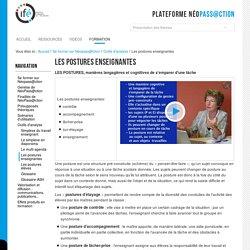 Les postures enseignantes — 2-Ifé - Plateforme néo-titulaires - NéoPass