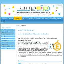 ANPEIP - Éducation nationale