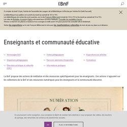 BNF- ressources péda-