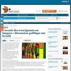 L'avenir des enseignants en langues : discussion publique sur la toile