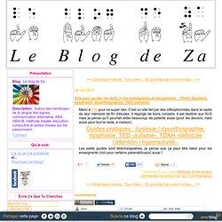 Site pour guider les AVS (+ les enseignants et les parents) : TDAH, Dyslexie, dysphasie, dysorthographie, TED (autisme)