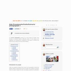 Aide:Enseignants/Outils/Scénario pédagogique 1