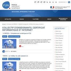 Collectif d'enseignants, Certificat informatique et internet