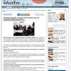 Numérique éducatif : la culture de la confiance pour les enseignants libère l'innovation