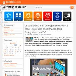 L'École branchée: un organisme ayant à cœur le rôle des enseignants dans l'intégration des TIC