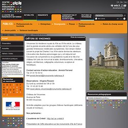 Accueil - Enseignants - Publics - Centre des monuments nationaux