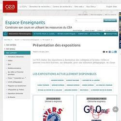 CEA - Présentation des expositions