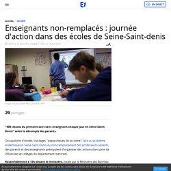 Enseignants non-remplacés : journée d'action dans des écoles de Seine-Saint-denis