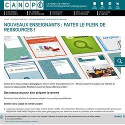 Canopé : nouveaux enseignants-ressources