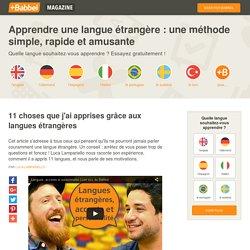 Les 11 leçons que m'ont enseigné les langues étrangères - Babbel.com