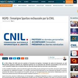 RGPD: l'enseigne Spartoo rechaussée par la CNIL