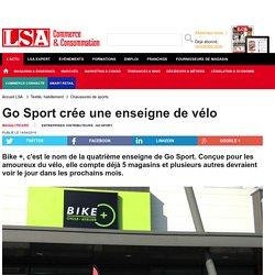 Go Sport crée une enseigne de vélo - Textile, habillement