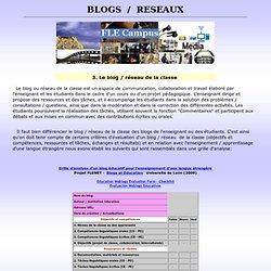 blogs 5, enseignement, applications, éducation, FLE, carnets web, weblogs