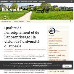 Qualité de l'enseignement et de l'apprentissage : la vision de l'université d'Uppsala