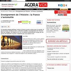 Enseignement de l'Histoire : la France s'automutile