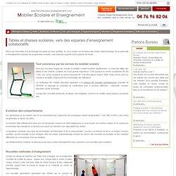 Tables et chaises scolaires, vers des espaces d'enseignement collaboratifs