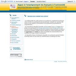 Appui à l'enseignement du français