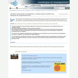 Produire, gérer et publier une ressource sur le patrimoine local