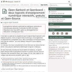 Open-Sankoré: le logiciel d'enseignement numérique interactif, gratuit et Open-Source - Pédagogie - Direction des services départementaux de l'éducation nationale du 79