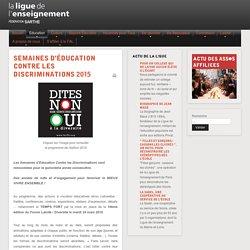 Ligue de l'enseignement Fédération Sarthe - FAL72 - Semaines d'éducation contre les discriminations