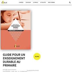 Guide pour un enseignement durable au primaire