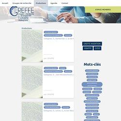 GREFFE - Groupes de Recherche sur l'Enseignement et la Formation de Formateurs d'Enseignants