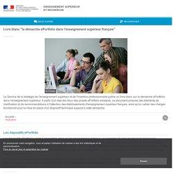 """Livre blanc """"la démarche ePortfolio dans l'enseignement supérieur français"""" - ESR : enseignementsup-recherche.gouv.fr"""