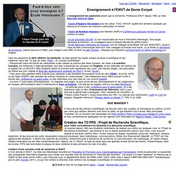 Enseignement ENVT Prof Denis Corpet