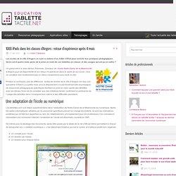 1000 iPads dans les classes d'Angers : retour d'expérience après 4 mois - Tablette-Tactile.net