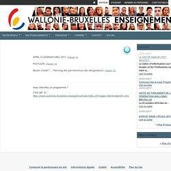 Enseignement organisé par la Fédération Wallonie-Bruxelles