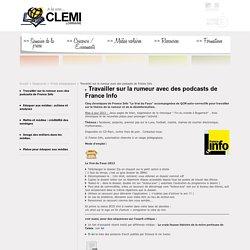Centre de Liaison de l'Enseignement et des Médias d'Information [CLEMI] - Lorraine