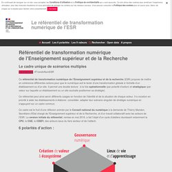 Open Data Enseignement supérieur, Recherche et Innovation - Données ouvertes