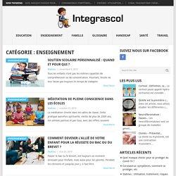 Enseignement Archives - Integrascol.fr