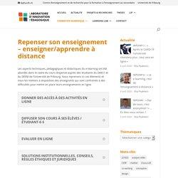 Laboratoire d'innovation pédagogique - Université de Fribourg
